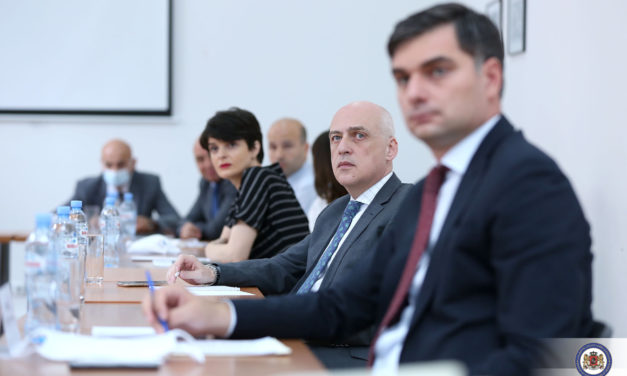 Research Presentation at the Ministry of Foreign Affairs of Georgia