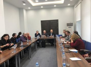 ნატოსა და ევროკავშირის შესახებ საინფორმაციო ცენტრში სექტორალური შეხვედრა გაიმართა