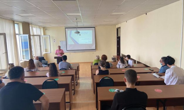 Public lecture at Batumi University